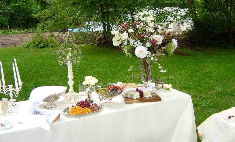 weddings and special events irish hollow bed